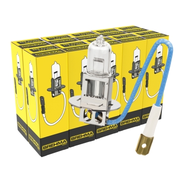 Brehma 90109 10X Classic H3 Halogen Autolampe 12V 55W PK22s