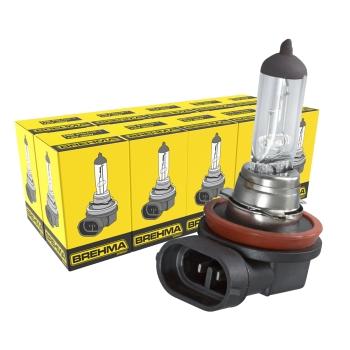 10x BREHMA H8 Halogen Lampe 12V 35W PGJ19-1 Auto Birne E Prüfzeichen