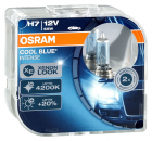 2er Set OSRAM Cool Blue Intense H7 PX26d 64210CBI 2. Generation 4200K 55W 12V