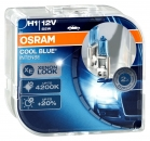 2er Set OSRAM Cool Blue Intense H1 P14.5s  64150CBI 2. Generation 4200K 12V 55W