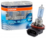 2er Set OSRAM Cool Blue Intense H11 PGJ19-2  64211CBI 12V 55W