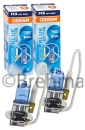 2er Set OSRAM Cool Blue Intense H3 64151CBI 4200K 12V 55W